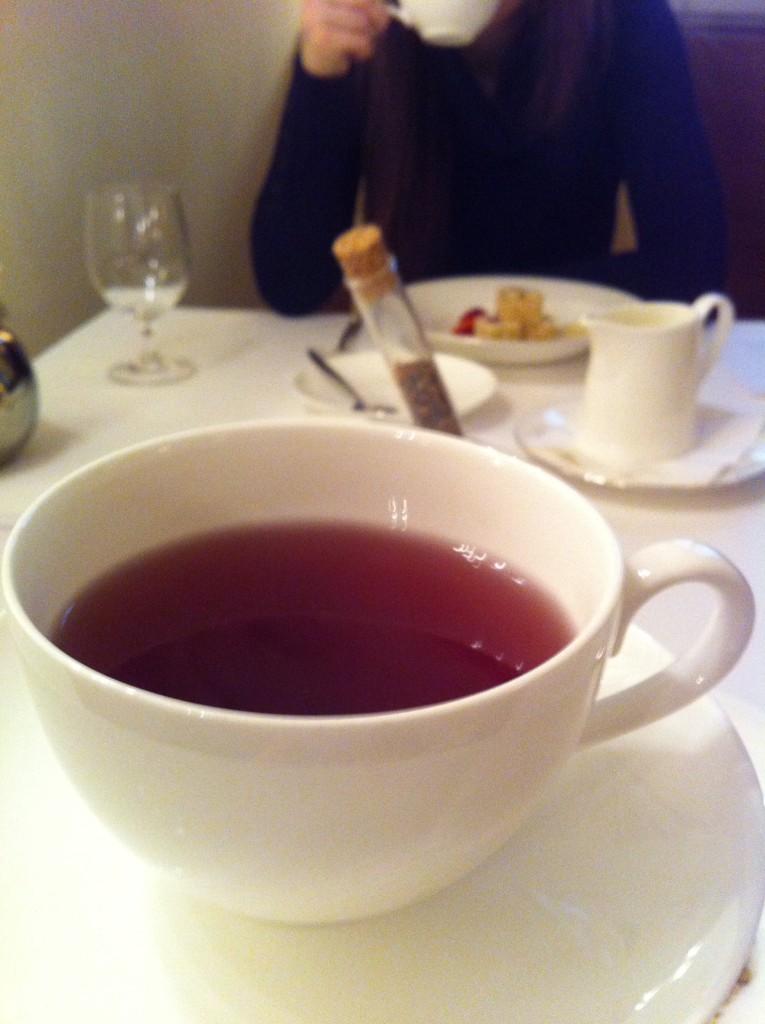 Čajová směs vytvořená speciálně pro Grand Restaurant Festival od britské firmy Harney&Sons